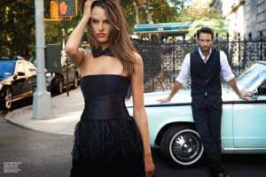 The Alessandra Ambrosio Vogue Brazil December Shoot is Lovely & Luxe