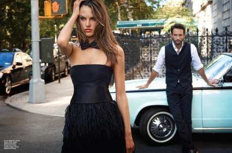 Romantic Getaway Captures - The Alessandra Ambrosio Vogue Brazil December Shoot is Lovely & Luxe