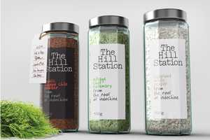 The Hill Station Packaging Adopts a Hybrid Historical and Contemporary Look