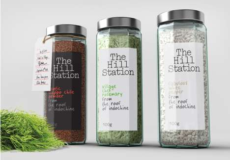 Hill Station Packaging