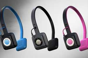 The ODDI01 Headphones are Designed to Hold the iPod Shuffle