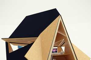 Tetra-Shed Spices up the Office Environment with an Angular Piece
