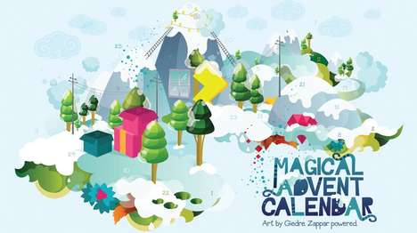Zappar Magical Advent Calendar