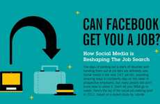 Social Media Employment Stats - The 'Can Facebook Get You a Job?' Infographic is An Eye-Opener