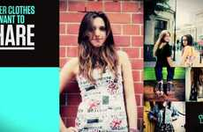 Fashion-Trading Sites - Closet Swap Encourages People to Share Their Wardrobes
