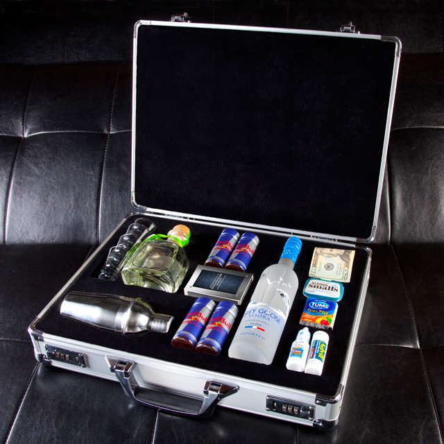 Party-Ready Suitcases
