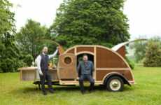 Classy Cocktail Campers - Brad Ford Creates the Ultimate Mobile Lounge