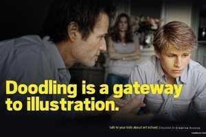 CCS' Art School PSAs Encourage Parents to Talk to Kids
