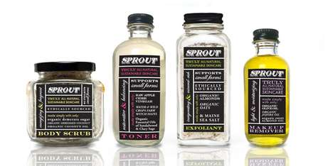 Sprout Skincare Packaging