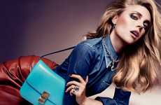 Glamorous Denim Looks - This Vogue Joyas Spain December 2011 Shoot Turns Casual into Dressy