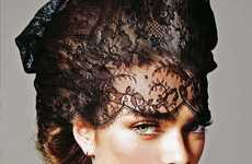 Haunting Housewife Editorials - The Sophie Vlaming for Vogue Portugal Shoot is Hot