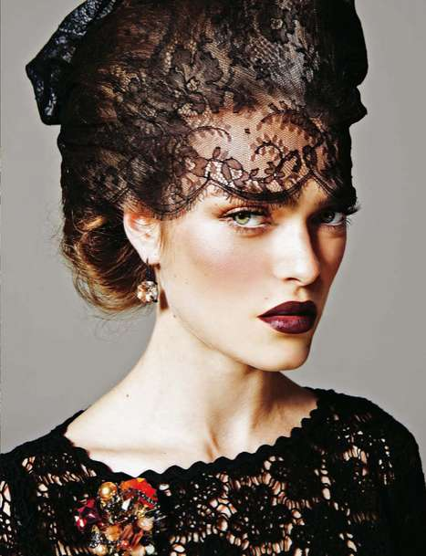 Sophie Vlaming for Vogue Portugal December 2011