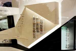 Athens Optical Store Features an Origami-Like Interior