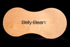 The BeanCo 'Belly Bean' is the Curvy and Convenient Desk to Carry