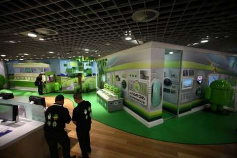 Search Engine Pop-Up Shops - The World's First Androidland Opens in Australia