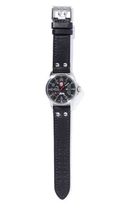 stussy x luminox field miltary watch