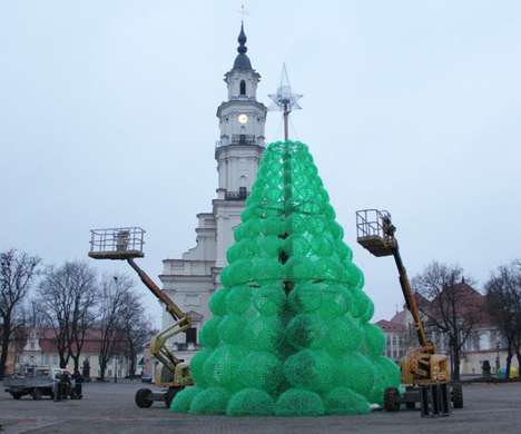 Literal Green Holidecor - The Christmas Tree by Jolanta Šmidtienė is Made of Plastic