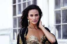 Gorgeous Gold Accessory Shots - The Paula Patton Harper's Bazaar Arabia Shoot is Glam
