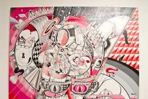 The Wynwood Walls Indoor Exhibits Features Eccentric Murals