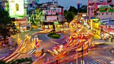 Rob Whitworth Ho Chi Minh City Video