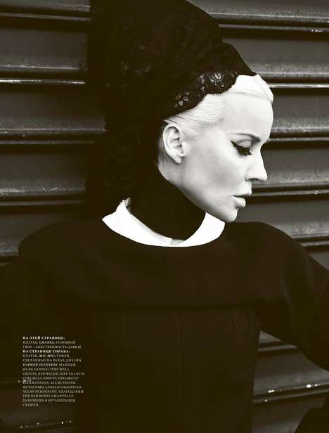 Daphne Guinness for Harper