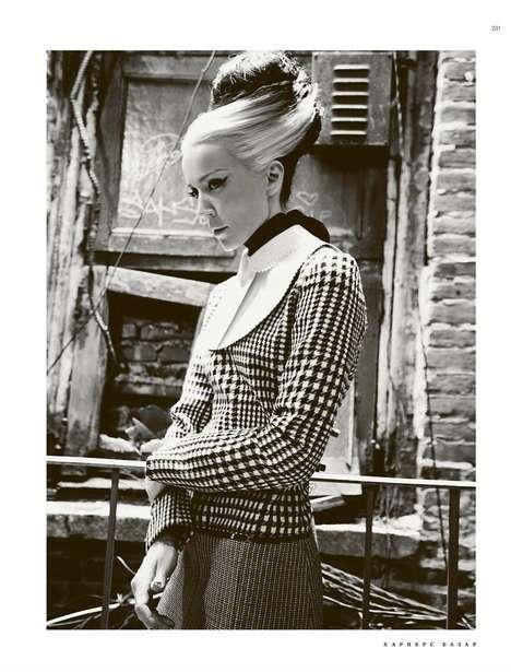 Daphne Guinness for Harper's Bazaar Russia