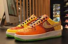 Custom Multi-Hued Kicks - The Nike Air Force 1 Bespoke Gets a Facelift from Harajuku