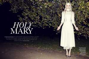 The Sophie Vlaming for 'Avantgarde' Magazine is Spiritual