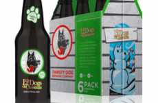Seasonal Beer Branding - Thirsty Dog Packaging Features Four Distinctive Canines Around the Calendar