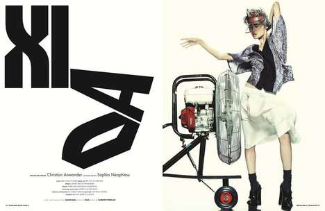 Xiao Wang for 10 Magazine #41 Winter 2011