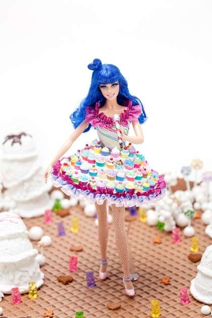 Cupcake Couture Popstar Dolls - The Katy Perry Barbie Doll is a Spitting Image of the Singer