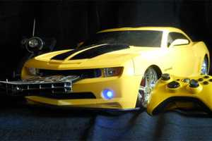 Transformers Bumblebee Xbox 360 Gives Gaming a Robotic Makeover