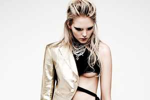 The Dani by Chris Nicholls for Flare January 2012 Shoot is Rocker Chic