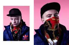 Bandana-Clad Editorials - The Jake Shortall for Hysteria Shoot Has Swagger