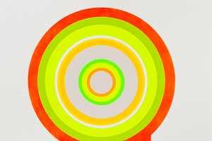 Sarah Gee Turns Geometric Shapes Into Vivid Works of Art