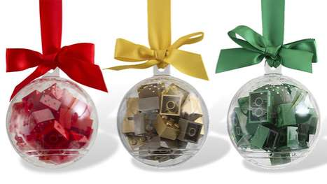 LEGO Holiday Ornaments