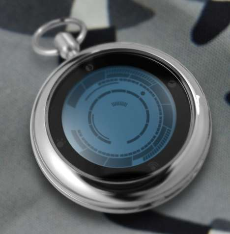 21st Century Pocket Watches - The Kisai Rogue Touch Pocket Watch is Perfect for the Modern Gentlemen