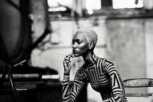 The Herieth Paul for Dress to Kill Winter 2011 Shoot is Ultra Modern