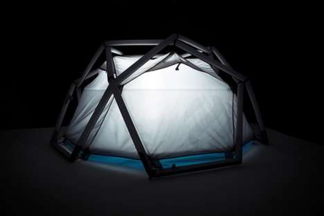 Inflatable Camping Shelters - The Cave Tent by Heimplanet Makes Spending Time in the Wild Easier