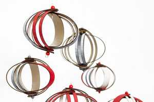 These Fleet Ribbon Ornaments are Visually Interesting and Durable