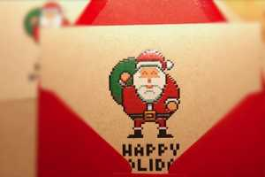 8bit Holiday Spreads Holiday Cheer with Graphics from Yesteryear