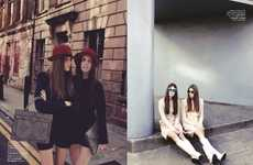 Mirrored Style Photography - The 'S Moda Doble o Nada' Editorial Stars Maria Palm and Adina