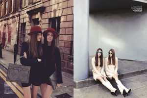 The 'S Moda Doble o Nada' Editorial Stars Maria Palm and Adina