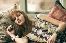 Lounging Hippie Editorials