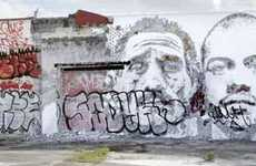 9Outdoor Graffiti Galleries (UPDATE) - The Wynwood Walls of Miami, Florida, Displays Street Art