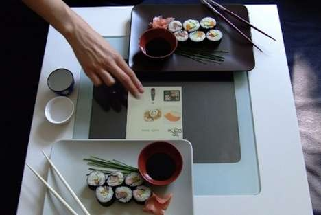 Touchscreen Tabletop Menus - Order Food Conveniently From Your Seat with Draqie Interactive Table