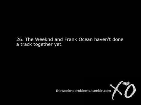 The Weeknd Problems