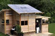 Alternative Refugee Abodes - The Pallet House by I-Beam Design Offers Low-Cost Housing