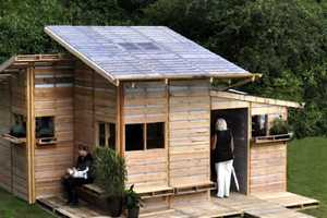 The Pallet House by I-Beam Design Offers Low-Cost Housing