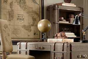 Richard's Desk by Restoration Hardware Contemporizes Victorian Look